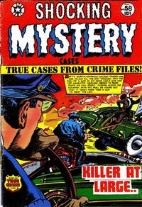 Cover Thumbnail for Shocking Mystery Cases (Star Publications, 1952 series) #58