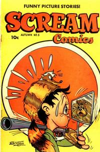 Cover Thumbnail for Scream Comics (Ace Magazines, 1944 series) #5