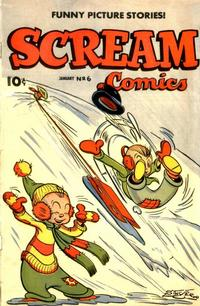 Cover Thumbnail for Scream Comics (Ace Magazines, 1944 series) #6