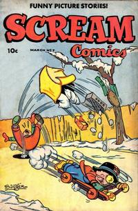 Cover Thumbnail for Scream Comics (Ace Magazines, 1944 series) #7