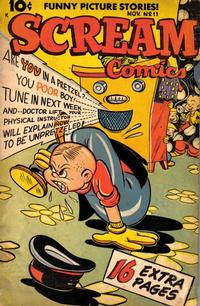 Cover Thumbnail for Scream Comics (Ace Magazines, 1944 series) #11