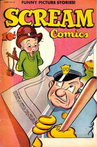 Cover Thumbnail for Scream Comics (Ace Magazines, 1944 series) #14