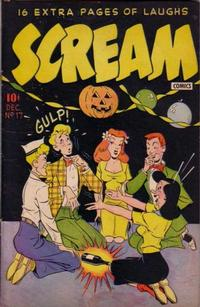 Cover Thumbnail for Scream Comics (Ace Magazines, 1944 series) #17
