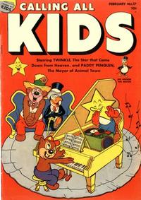 Cover Thumbnail for Calling All Kids (Parents' Magazine Press, 1945 series) #17