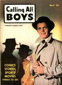 Cover Thumbnail for Calling All Boys (Parents' Magazine Press, 1946 series) #2