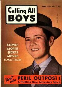 Cover Thumbnail for Calling All Boys (Parents' Magazine Press, 1946 series) #3