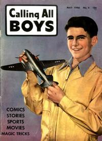 Cover Thumbnail for Calling All Boys (Parents' Magazine Press, 1946 series) #4
