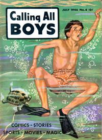 Cover Thumbnail for Calling All Boys (Parents' Magazine Press, 1946 series) #6