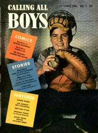 Cover Thumbnail for Calling All Boys (Parents' Magazine Press, 1946 series) #7