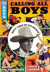 Cover Thumbnail for Calling All Boys (Parents' Magazine Press, 1946 series) #10