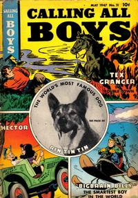 Cover Thumbnail for Calling All Boys (Parents' Magazine Press, 1946 series) #11
