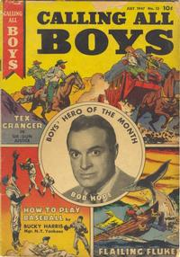 Cover Thumbnail for Calling All Boys (Parents' Magazine Press, 1946 series) #12
