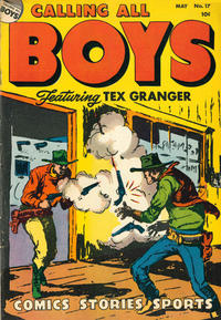 Cover Thumbnail for Calling All Boys (Parents' Magazine Press, 1946 series) #17