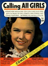 Cover Thumbnail for Calling All Girls (Parents' Magazine Press, 1941 series) #1