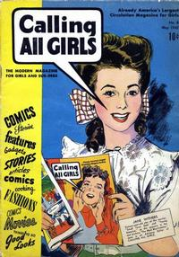 Cover Thumbnail for Calling All Girls (Parents' Magazine Press, 1941 series) #6