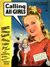 Cover Thumbnail for Calling All Girls (Parents' Magazine Press, 1941 series) #8