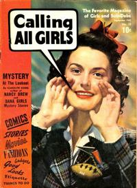 Cover Thumbnail for Calling All Girls (Parents' Magazine Press, 1941 series) #10