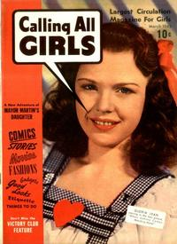 Cover Thumbnail for Calling All Girls (Parents' Magazine Press, 1941 series) #v3#3 [16]