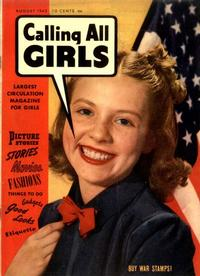 Cover Thumbnail for Calling All Girls (Parents' Magazine Press, 1941 series) #20