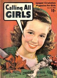 Cover Thumbnail for Calling All Girls (Parents' Magazine Press, 1941 series) #25