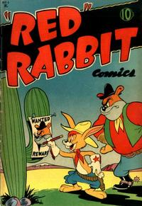 """Cover Thumbnail for """"Red"""" Rabbit Comics (Dearfield Publishing Co., 1947 series) #1"""