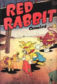 """Cover Thumbnail for """"Red"""" Rabbit Comics (Dearfield Publishing Co., 1947 series) #2"""