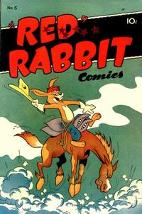 """Cover Thumbnail for """"Red"""" Rabbit Comics (Dearfield Publishing Co., 1947 series) #5"""