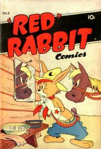 """Cover Thumbnail for """"Red"""" Rabbit Comics (Dearfield Publishing Co., 1947 series) #6"""