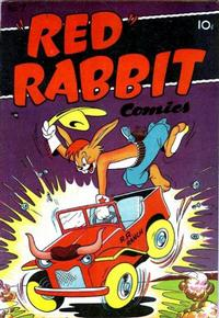 """Cover Thumbnail for """"Red"""" Rabbit Comics (Dearfield Publishing Co., 1947 series) #7"""