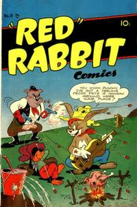 """Cover Thumbnail for """"Red"""" Rabbit Comics (Dearfield Publishing Co., 1947 series) #8"""