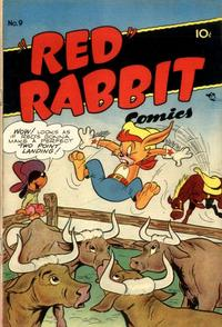 """Cover Thumbnail for """"Red"""" Rabbit Comics (Dearfield Publishing Co., 1947 series) #9"""