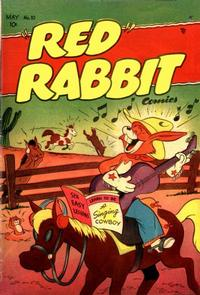 """Cover Thumbnail for """"Red"""" Rabbit Comics (Dearfield Publishing Co., 1947 series) #10"""