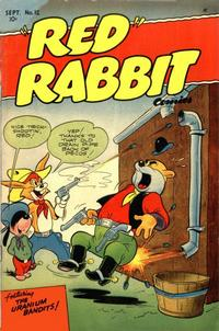 """Cover Thumbnail for """"Red"""" Rabbit Comics (Dearfield Publishing Co., 1947 series) #12"""