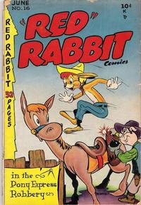 """Cover Thumbnail for """"Red"""" Rabbit Comics (Dearfield Publishing Co., 1947 series) #16"""