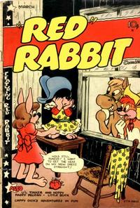 """Cover Thumbnail for """"Red"""" Rabbit Comics (Dearfield Publishing Co., 1947 series) #19"""