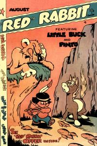 """Cover Thumbnail for """"Red"""" Rabbit Comics (Dearfield Publishing Co., 1947 series) #21"""