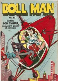 Cover Thumbnail for Doll Man (Bell Features, 1949 series) #22
