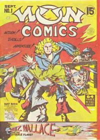 Cover Thumbnail for Wow Comics (Bell Features, 1941 series) #1