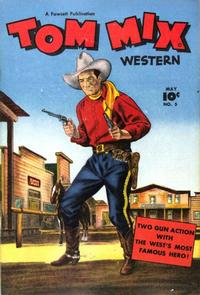 Cover Thumbnail for Tom Mix Western (Fawcett, 1948 series) #5