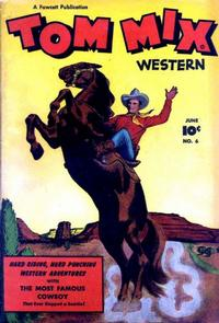 Cover Thumbnail for Tom Mix Western (Fawcett, 1948 series) #6