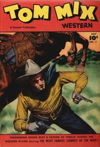 Cover Thumbnail for Tom Mix Western (Fawcett, 1948 series) #7