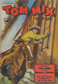 Cover Thumbnail for Tom Mix Western (Fawcett, 1948 series) #9