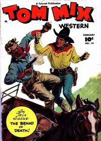Cover Thumbnail for Tom Mix Western (Fawcett, 1948 series) #14
