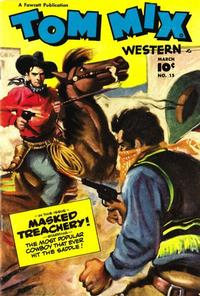 Cover Thumbnail for Tom Mix Western (Fawcett, 1948 series) #15