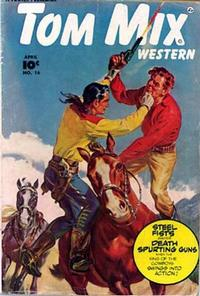 Cover Thumbnail for Tom Mix Western (Fawcett, 1948 series) #16
