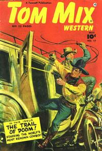 Cover Thumbnail for Tom Mix Western (Fawcett, 1948 series) #17