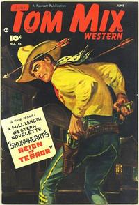 Cover Thumbnail for Tom Mix Western (Fawcett, 1948 series) #18