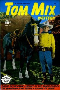 Cover Thumbnail for Tom Mix Western (Fawcett, 1948 series) #19