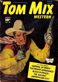 Cover Thumbnail for Tom Mix Western (Fawcett, 1948 series) #20