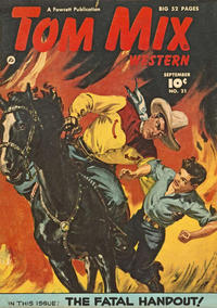 Cover Thumbnail for Tom Mix Western (Fawcett, 1948 series) #21